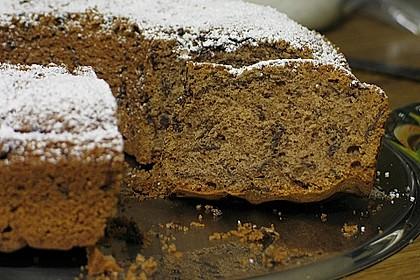 Rotweinkuchen mit Zimt und Schokostreusel 1