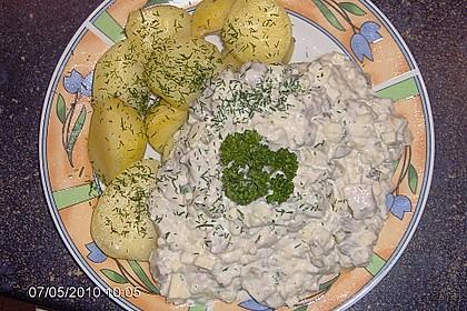Heringssalat mit Pellkartoffeln 1