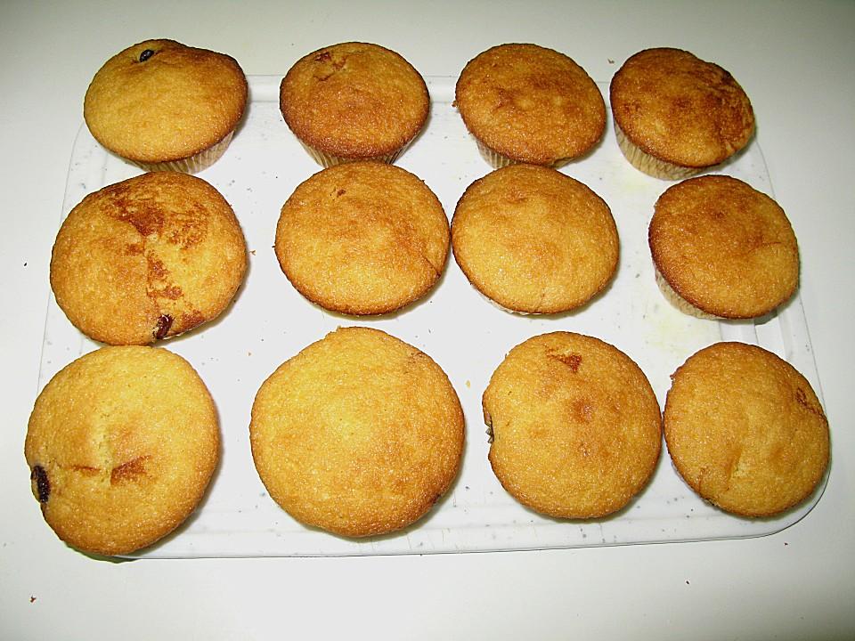 Käsekuchen - Muffins mit Kirschen | Chefkoch.de