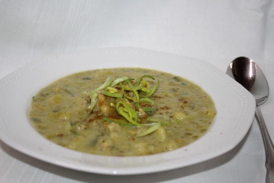 Kartoffel - Lauch - Suppe