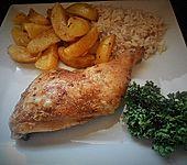 Portugiesisches Hähnchen aus dem Ofen