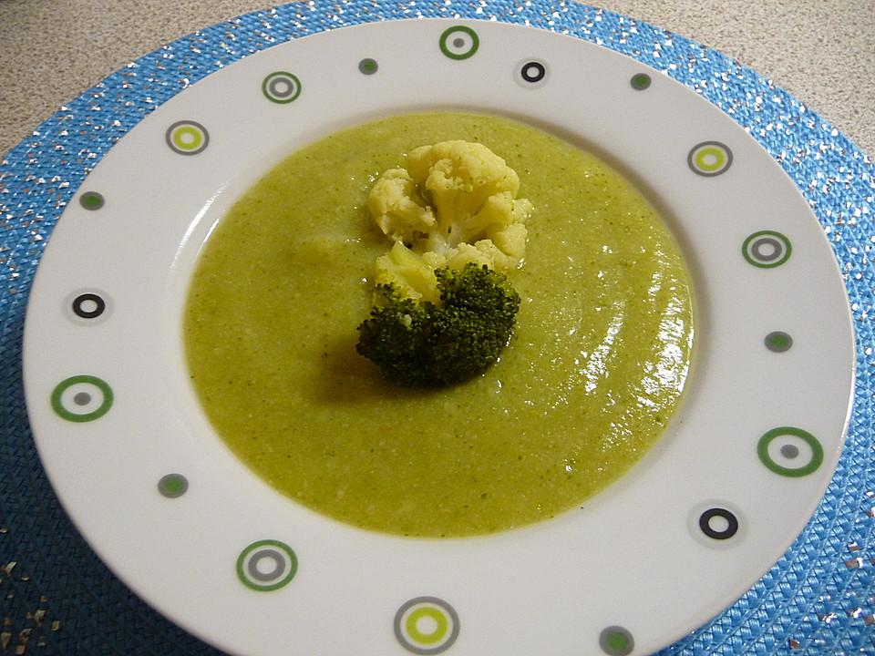 blumenkohl brokkoli suppe rezept mit bild von tisiphone. Black Bedroom Furniture Sets. Home Design Ideas