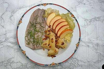 Matjesfilet mit Äpfeln und Pellkartoffeln 1