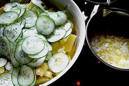 Gurken - Kartoffel Salat 9