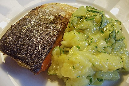Gurken - Kartoffel Salat 7