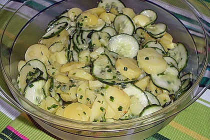 Gurken - Kartoffel Salat 5