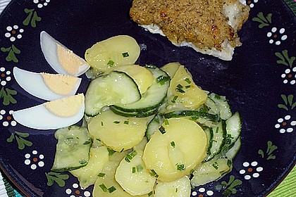 Gurken - Kartoffel Salat 3