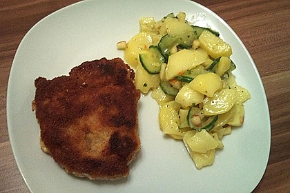 Gurken - Kartoffel Salat 4