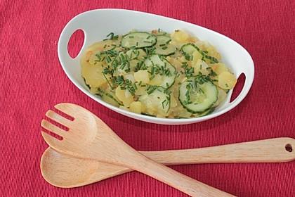 Gurken - Kartoffel Salat 1