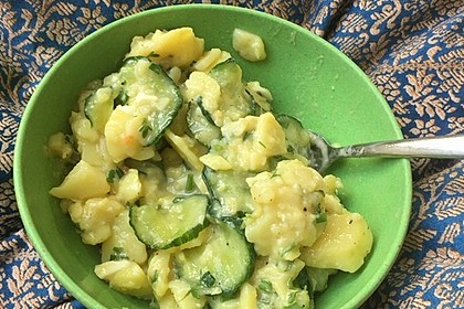 Gurken - Kartoffel Salat 8