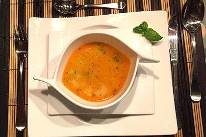 Thailändische Tom - Kah - Suppe