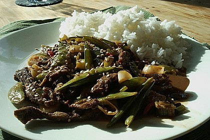 Beef Teriyaki Style 1