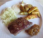 Rindersteak, Lammsteak vom Grill