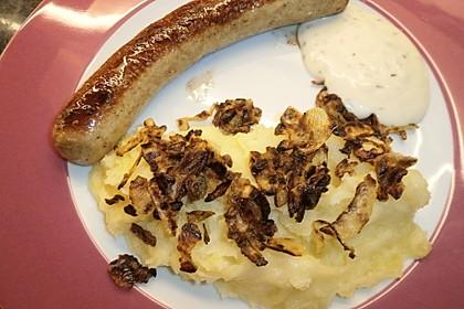 Kartoffelbrei mit Zwiebeln 2