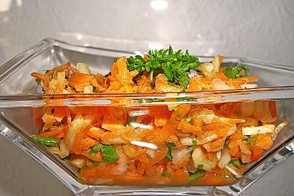 Karotten-Apfel-Salat 8