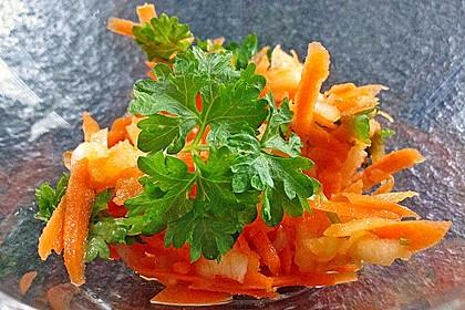 Karotten-Apfel-Salat 9