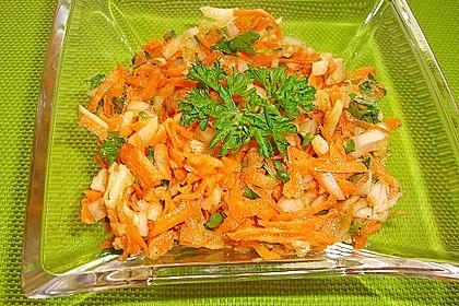 Karotten-Apfel-Salat 12