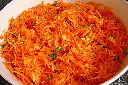 Karotten-Apfel-Salat 3