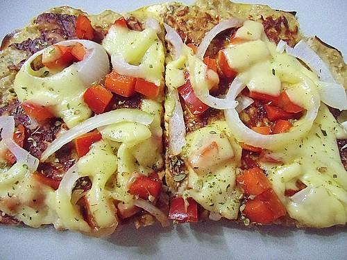 low carb pizza rezept mit bild von prinzessinisabella. Black Bedroom Furniture Sets. Home Design Ideas