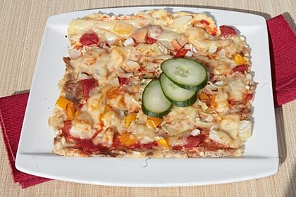 Low Carb Pizza 28