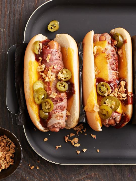 hot dog backofen