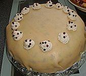 Marzipan-Schokokuss-Torte (Bild)