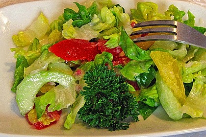 Salatsoße süß/sauer 1