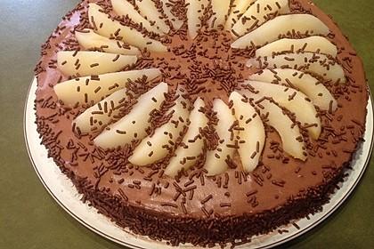 Birne Helene-Torte 2