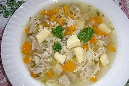 Hühnersuppe im Schnellkochtopf 1
