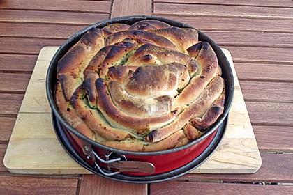 Kräuter-Zupfbrot in der Springform 51
