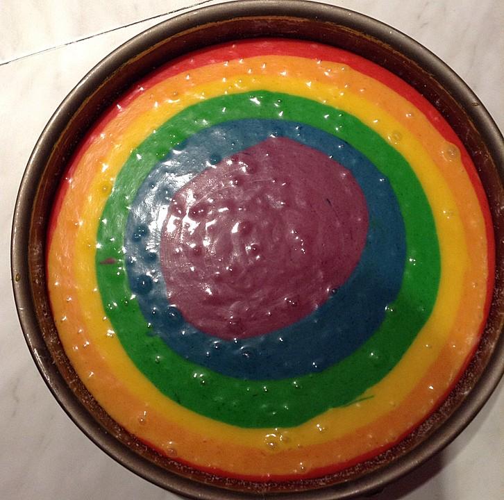 Regenbogenkuchen (Rezept mit Bild) von LOLAvonESCHE ...