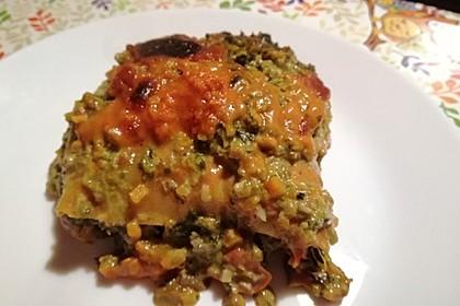 Vegetarische Spinat-Gemüse-Lasagne mit Tomatensoße 11