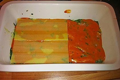 Vegetarische Spinat-Gemüse-Lasagne mit Tomatensoße 19