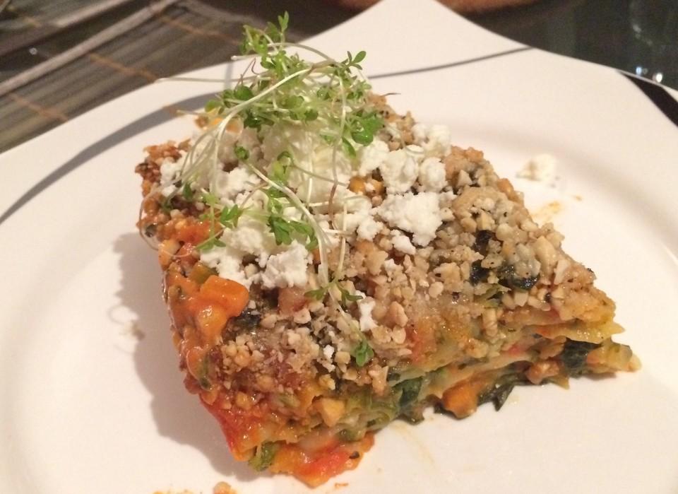 rezept vegetarische lasagne mit spinat gesundes essen und rezepte foto blog. Black Bedroom Furniture Sets. Home Design Ideas
