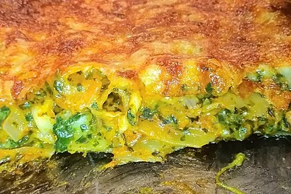 Vegetarische Spinat-Gemüse Lasagne mit Tomatensoße 3