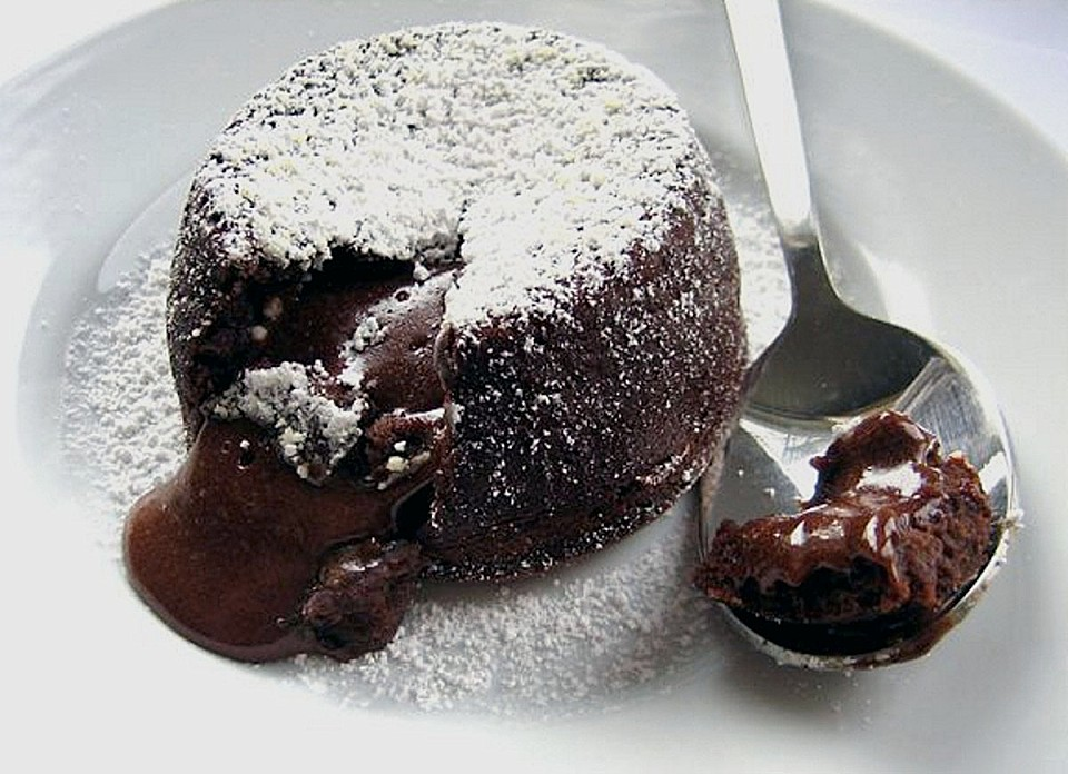 Warm Chocolate Lava Cake