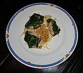 Mangold-Schweinemedaillon-Feta-Päckchen (Bild)