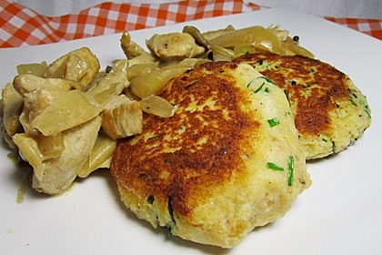 Kartoffelpüree-Plätzchen 7