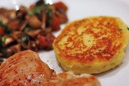 Kartoffelpüree-Plätzchen 1