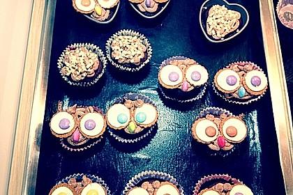 Vegane Schoko-Erdnussbutter-Cupcakes 11
