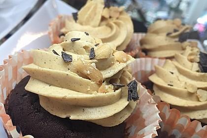 Vegane Schoko-Erdnussbutter-Cupcakes 1