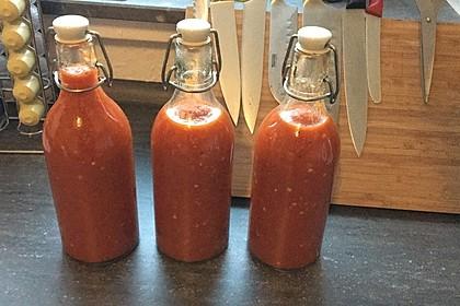 Feurige Hot Chili Sauce 1