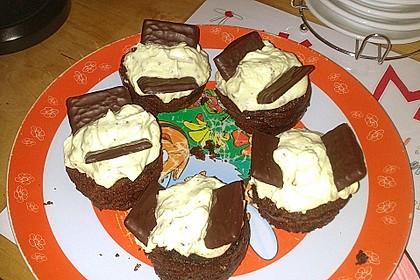 Schoko-Mint Cupcakes mit After-Eight Frosting 27