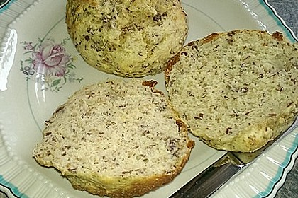 Brötchen ohne Mehl 4
