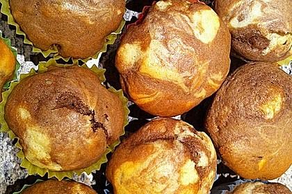 Marmor-Nutella-Muffins 0