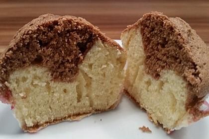 Marmor-Nutella-Muffins