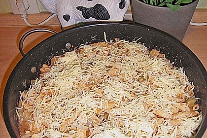 Vegetarischer Chicoree-Nudelauflauf à la Sylvia 3