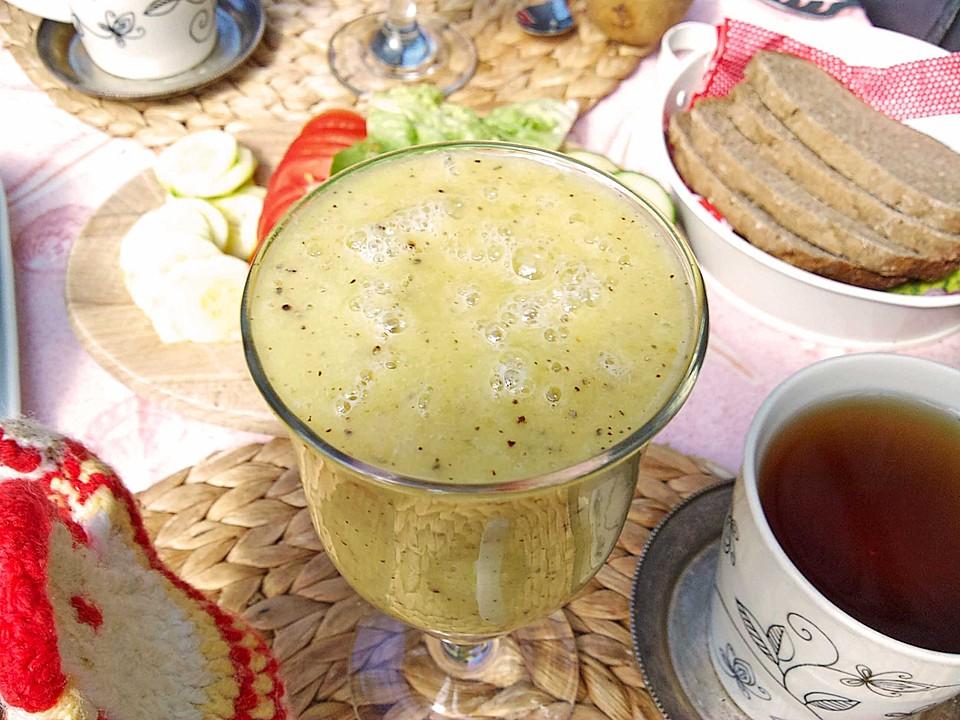 kiwi bananen smoothie rezept mit bild von kochmutti32. Black Bedroom Furniture Sets. Home Design Ideas
