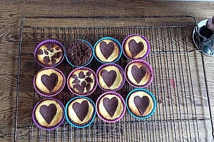 Zupfkuchen Muffins 50