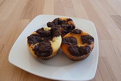 Zupfkuchen Muffins 96